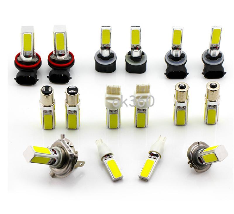 H7 20W ксенон LED COB противотуманные фары лампа Headling огни лампа для авто автомобилей H4 / H8 / H11/9005/9006/1156/1157 управляя свет