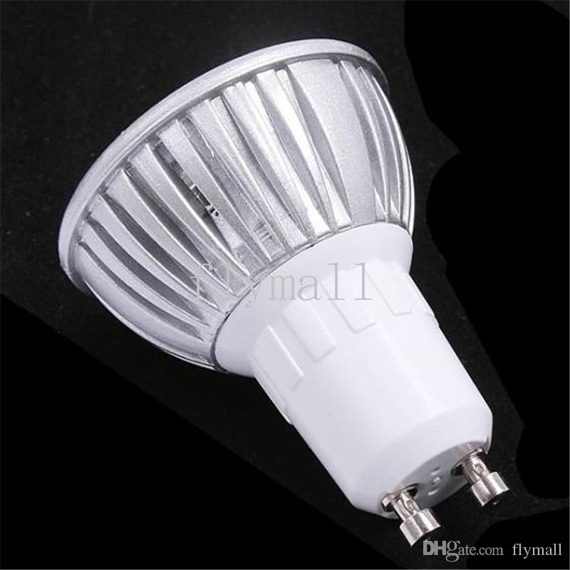 10X Yüksek güç GU10 3x3W 9W 110V 220V Dim Işık lamba Ampul LED Gömme Led Ampul Sıcak / Saf / Soğuk Beyaz