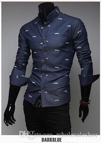 Best Mens Casual Shirts Man Designs Shirts Printed Design Long ...