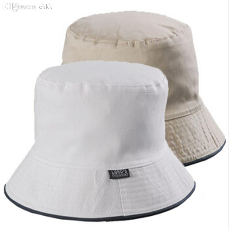 Wholesale Bucket Hat Bob Chapeu Feminino Large Size For Men Women Summer  Outdoor Fishing Sun Protection 100% Cotton Casquette Men Hat Styles Wool Hat  From ... e7c07c972ce9