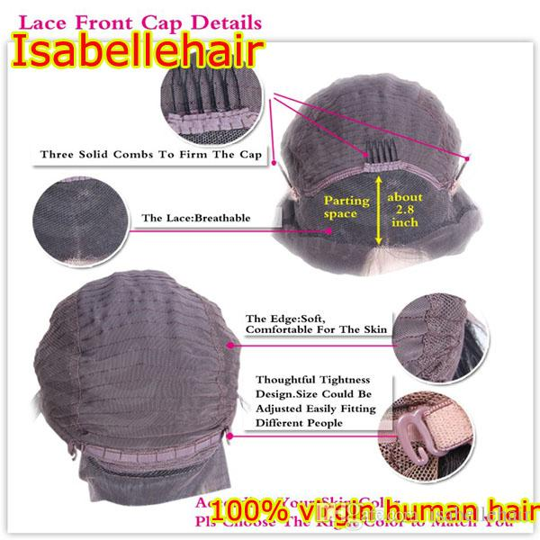 Lace Front Wig Bob Style 8A Unprocessed Full Lace Human Hair Wigs Baby Hair Silky Straight Short Human Hair Lace Wigs For Women