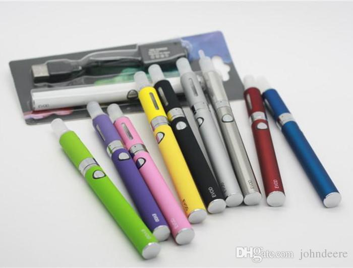 MT3 EVOD Blister pack kit kits de inicio eGo cigarrillos cigarrillos 650 mah 900 mah 1100 mah batería MT3 atomizador CE4