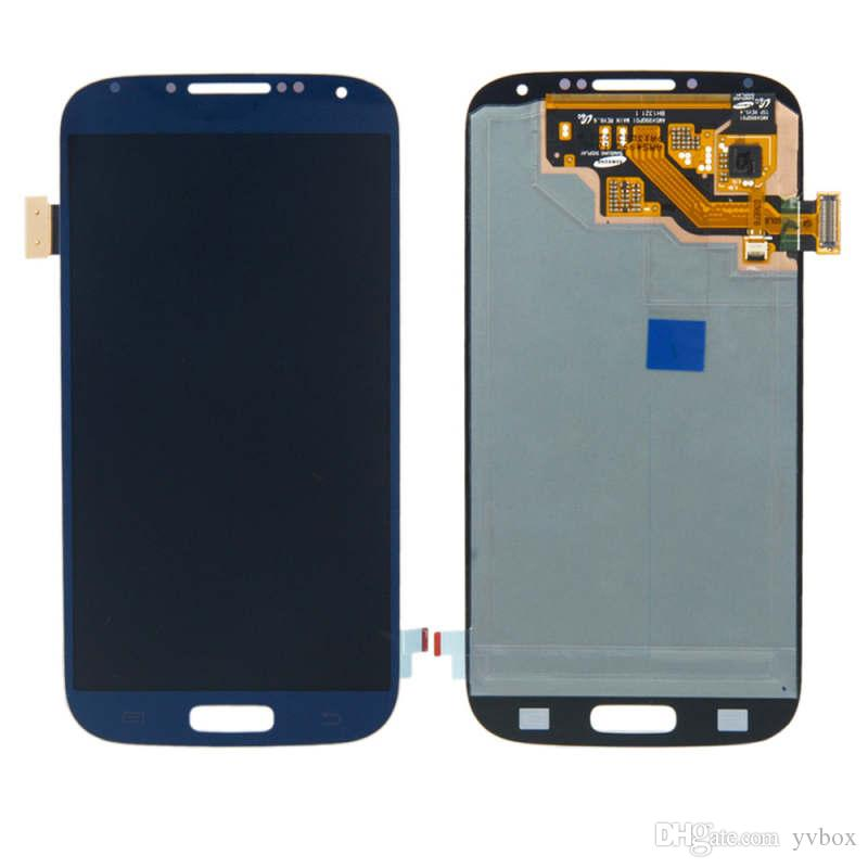 YVBOX B Grade SBI / Dead Pixel Screen For Samsung Galaxy S4 I9500 All Carriers LCD Display Digitizer Touch Screen Assembly