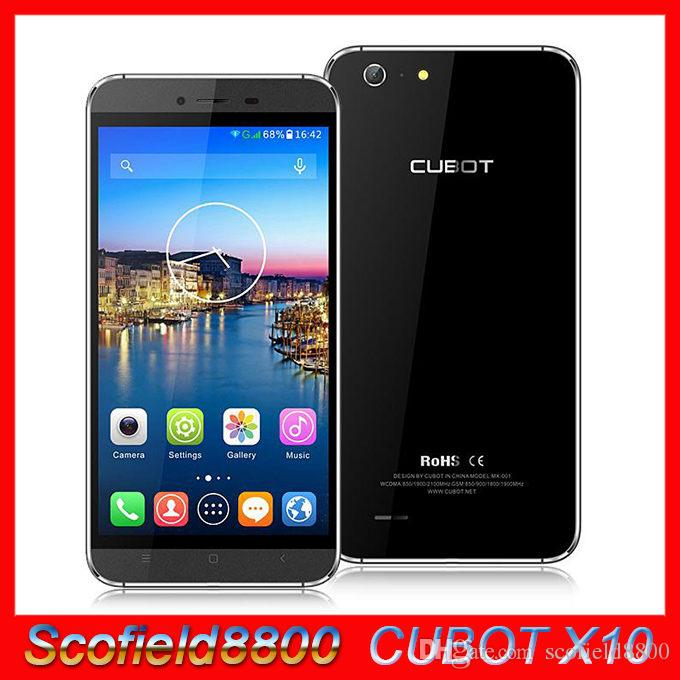 CUBOT originale X10 IP65 5.5inch étanche MTK6592M 1.4GHz Octa base Android 4.4 kitkat 2GB 16GB Smartphone IPS OGS HD 1280x720 13MP 8MP