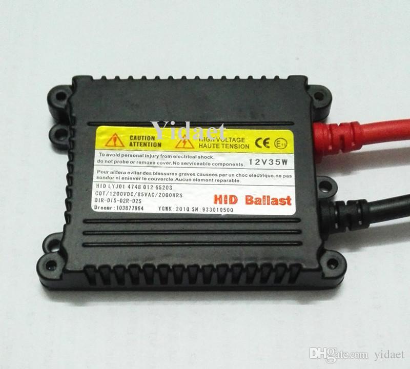 무료 배송 HID 제논 안정기, DC 슬림 안정기, DHL 페덱스에 의해 12V 35W 높은 품질의 밸러스트