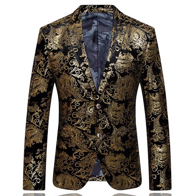 online cheap 2015 mens blazers gold blazer for men suit