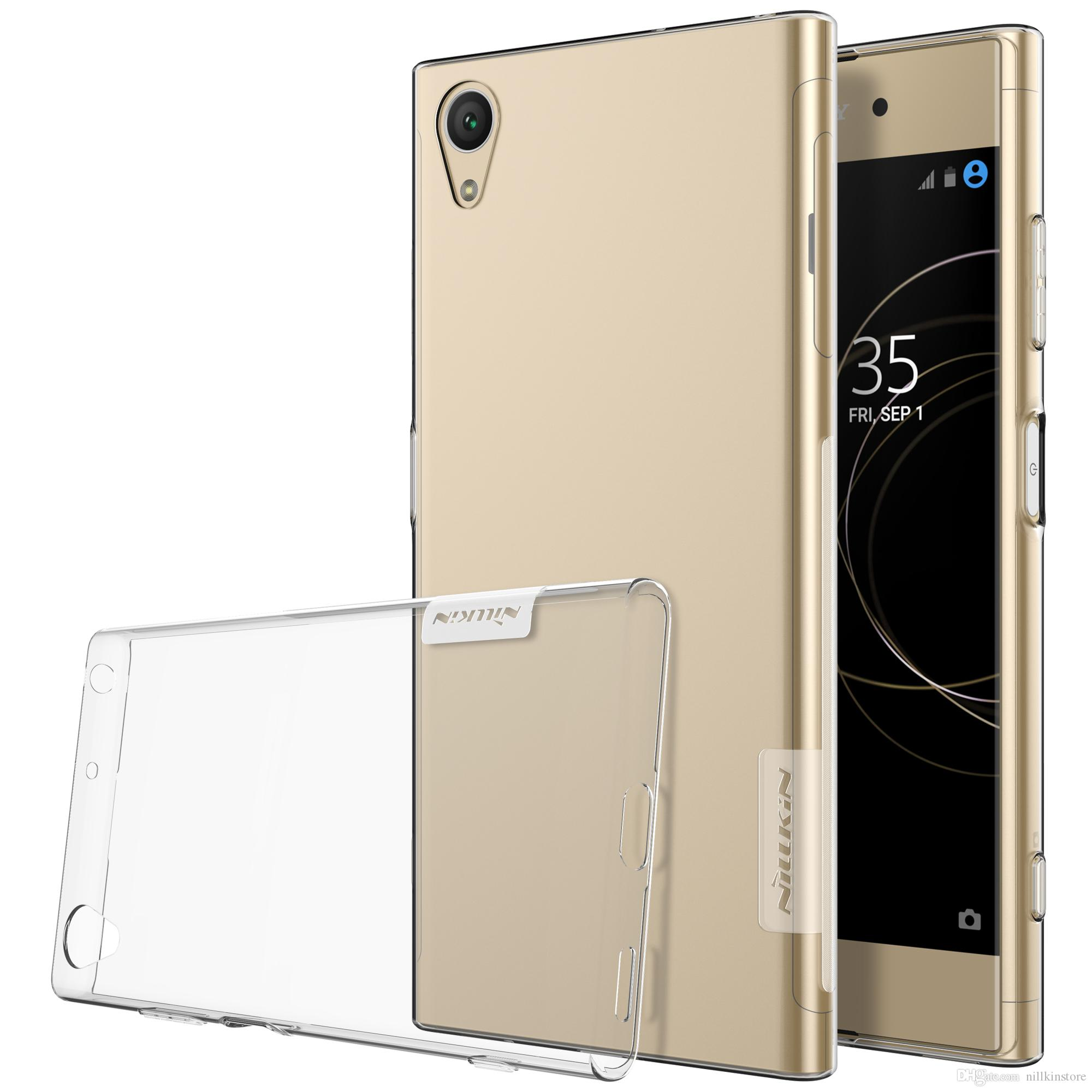 promo code 5ad0a 1779f Case For Sony Xperia XA1 Plus NILLKIN Shockproof Soft TPU Series Back Cover  sFor Sony Xperia XA1 Plus Case