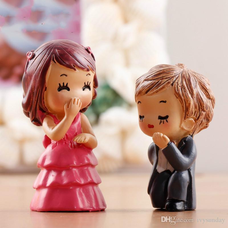 e Proposition Marié Mariée Ornements De Figurines Figurines Miniatures Fée Jardin Gnome Mousse Terrariums Artisanat Décoration Accessoires DIY Zakka