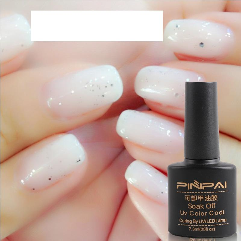 Wholesale New Nail Jelly Polish Milky White Gel Nail Polish Uv Led ...
