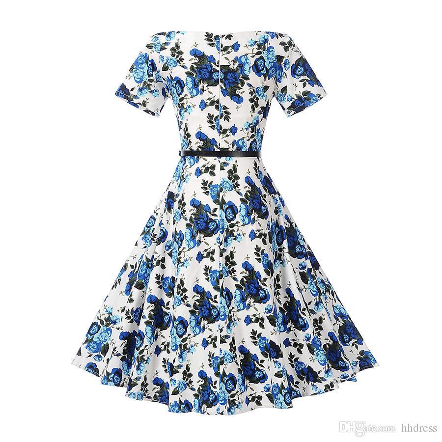 Audrey hepburn style 1950s 60s vintage bridesmaids dresses floral audrey hepburn style 1950s 60s vintage bridesmaids dresses floral rockabilly swing evening party dresses plus size ombrellifo Image collections