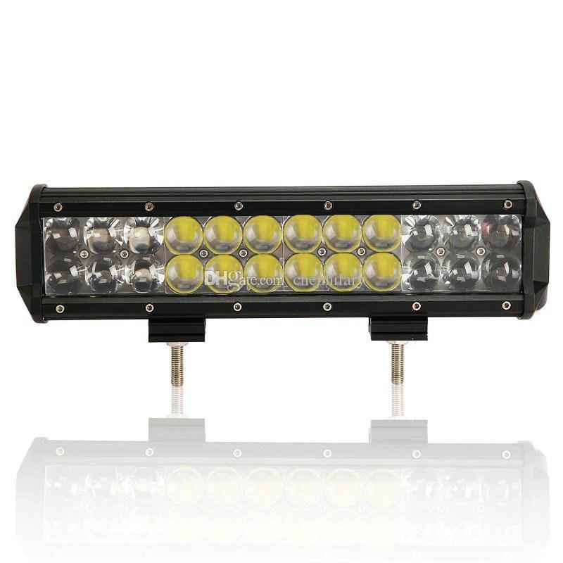 12 inch Osram 120W LED Work Light Bar Off road Lights Driving Lamp Spot Flood Combo 4D Barre LED 4X4 ATV SUV Truck Boat Lamp