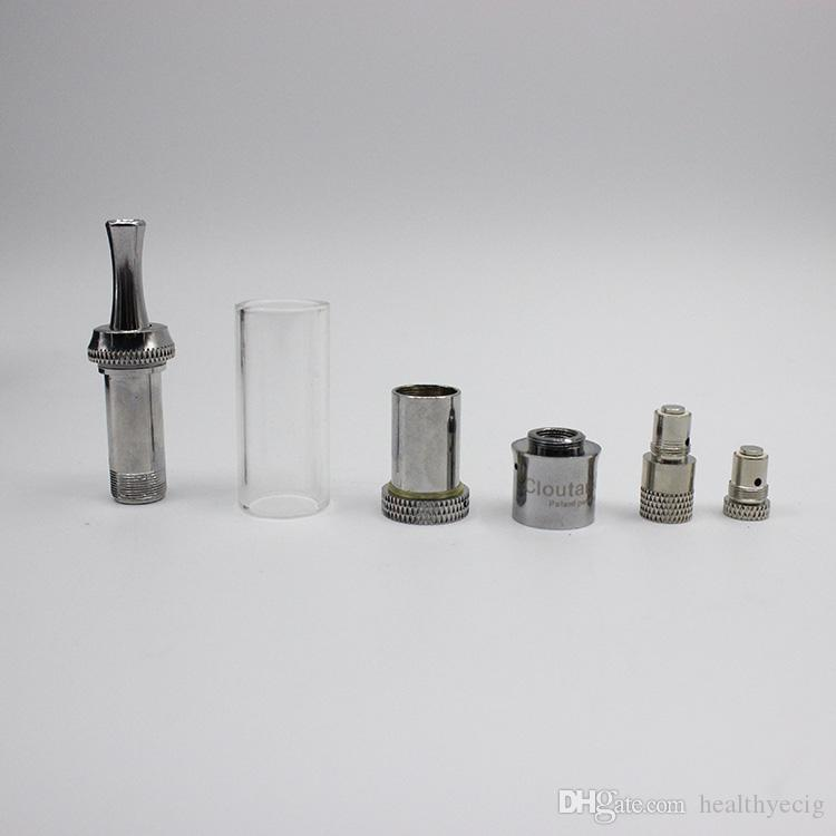 Cloupor atomizer Cloutank M3 M2 cartomizer Clear vaporizer 2.0-2.5ohm for Dry Herb 2014 with retail package 07h031