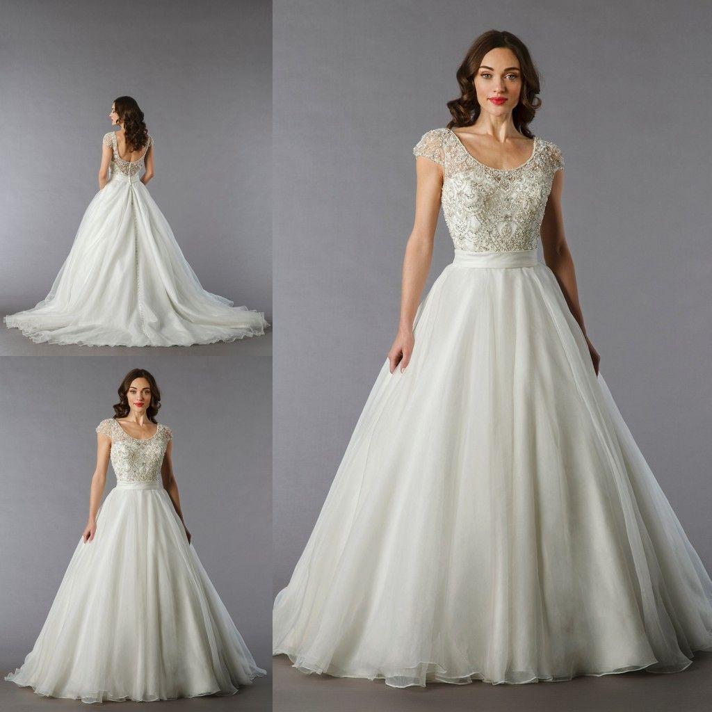 Discount Danielle Caprese Wedding Dresses 2015 Sparkling