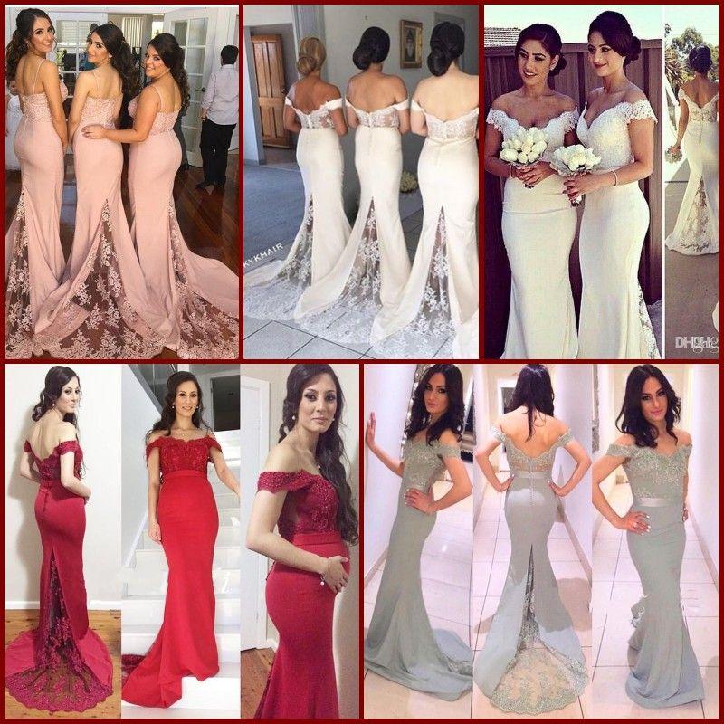 Hot Fashion 2015 Maternity Off Shoulder Dresses Long