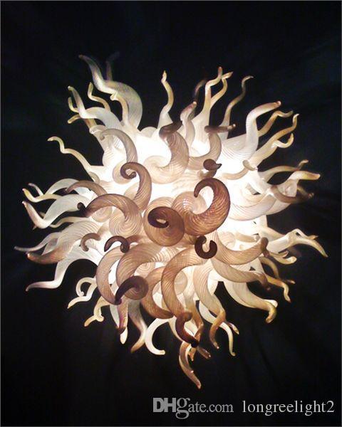 Frete Grátis Cor / Tamanho Personalizado CE / UL Certificado Lustre de Vidro Decorativo Fantasia Moderna Luz de Teto Barato