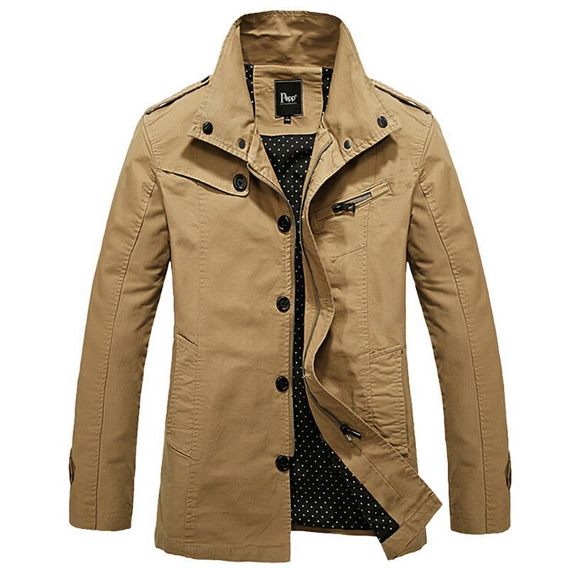 The styles of men's coats vary greatly, from the dapper, light-coverage variety to heavy-duty winter jackets for braving the coldest temps. Down jackets are renowned for their soft, heat-retaining capabilities, and they can pack down small if needed.