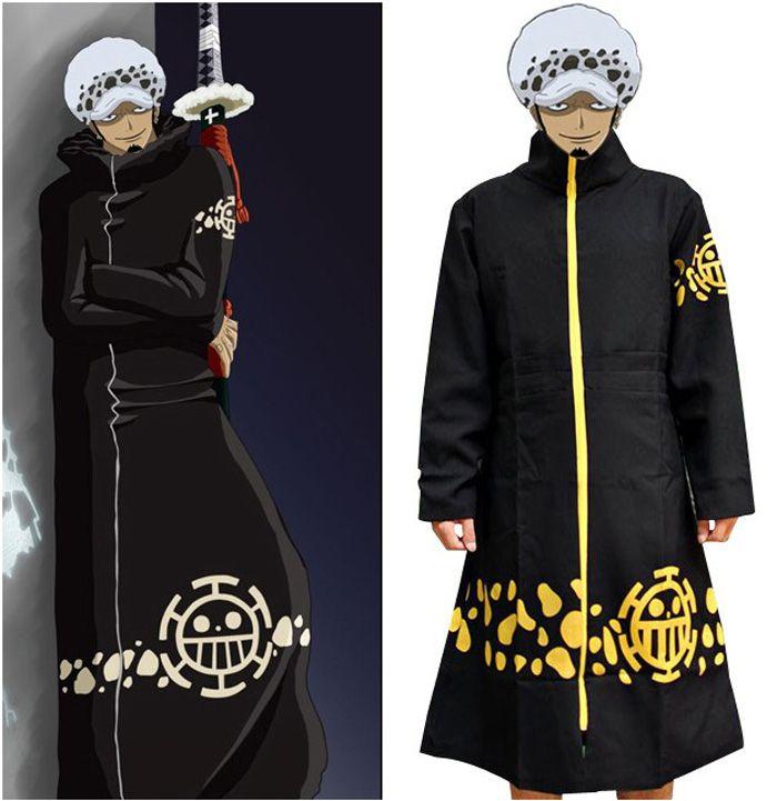 Anime One Piece Cosplay Costume Trafalgar Law 2 Years ...