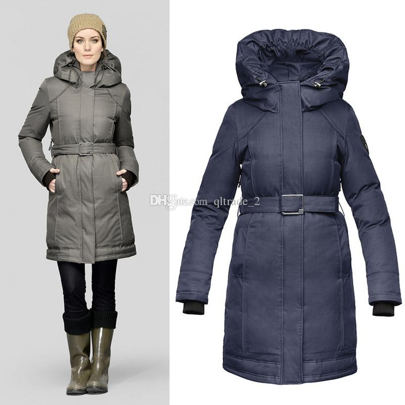 2018 Nobis Astrid Ladies Long Parka Womens Down Jacket Lady Down ...