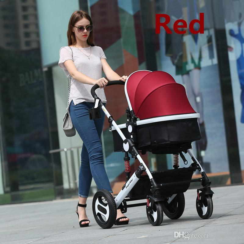 new hot baby trends jogger stroller with all accessories for option 2 in 1 baby carrinho for children high quality from zuozuo52 dhgatecom
