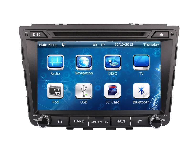 "8"" Auto Radio GPS Navigation Car DVD Player for Hyundai IX25 2014 2015 with Navigator Bluetooth TV USB SD AUX Stereo Audio Video"