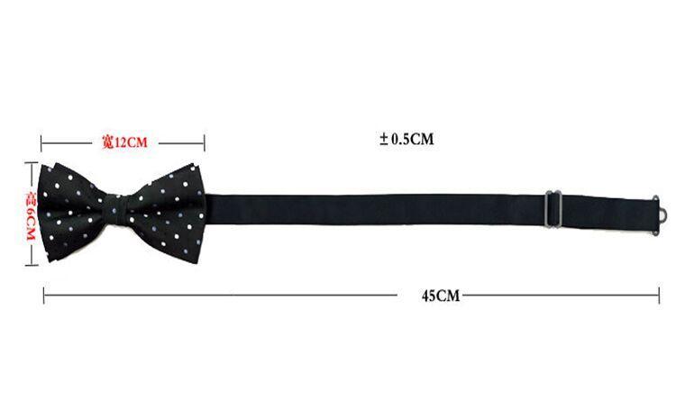 Cravates en soie coréennes ajustent la boucle bowknot des hommes 23 couleurs cravate Cravate professionnelle pour la fête des pères cravate cadeau de Noël gratuit DHL FedEx