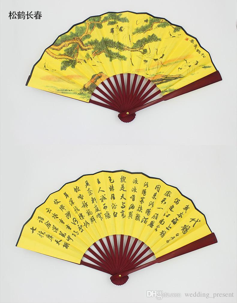 Chinesische Hochzeit Fans Männer Hand 8