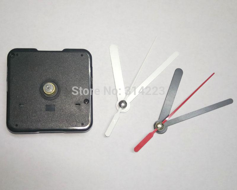 Wholesale Price 50pcs Mute Quartz Clock Movement For Clock Mechanism Repair  Diy Clock Parts Accessories Shaft 13mm