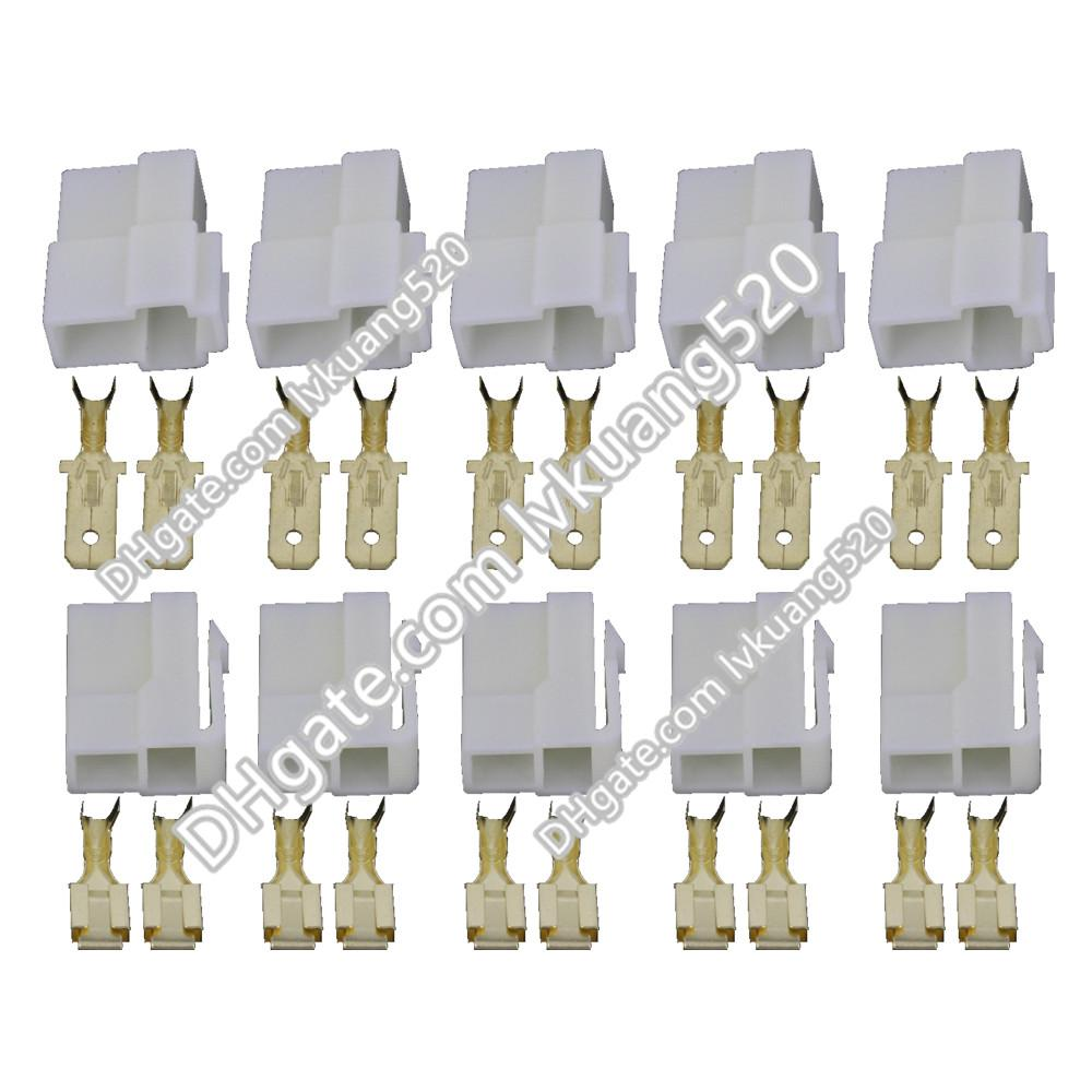2018 2 pin connector male and female connector automotive wiring rh dhgate com 1968 Camaro Wiring Harness Diagram GM Wiring Harness Connectors