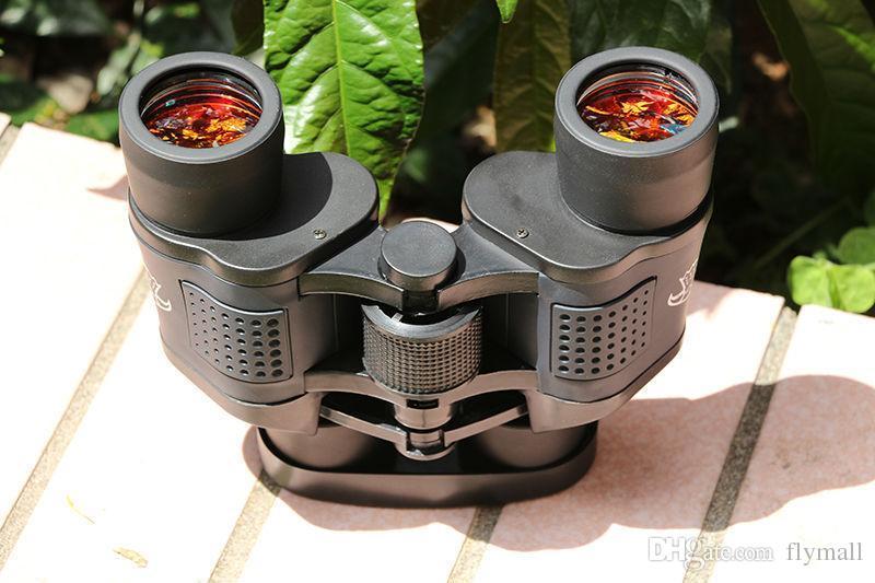 60x60 3000M Telescopio impermeable Ourdoor Definición de alta potencia Binoculos Visión nocturna Binoculares de caza Telescopio monocular el más nuevo