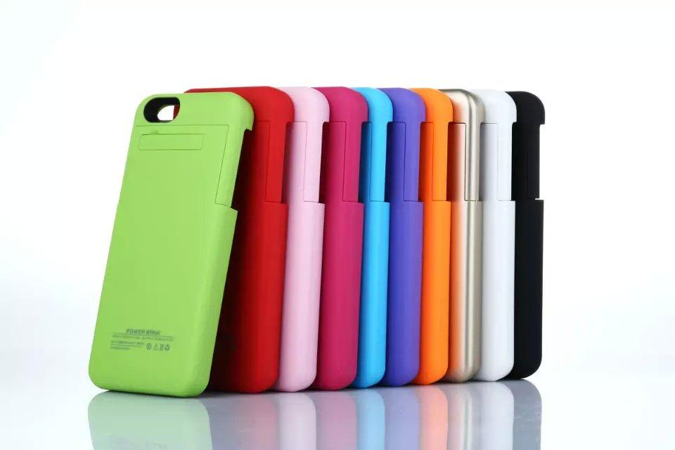 3200mAh Rechargeable External Battery Backup Charger Case Pack Power Bank for iPhone 7 6 6s 5 5S with box