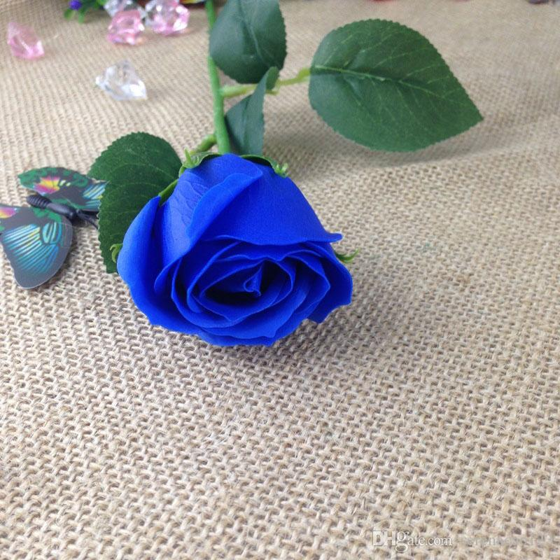 2018 valentine day gift decorative flowers hot item single roses, Ideas