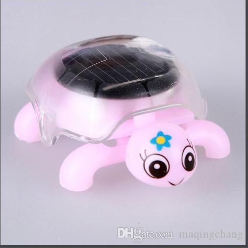 Fábrica hotsale juguete solar insecto tortuga perfecta educativa / intelectual juguete Niños regalo de cumpleaños promoción 200 unids / lote artículo 044