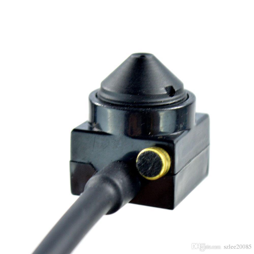 700TV 170 degree super small color video camera with audio Line HD Tiny Mini Security CCTV Pin Hole Camera