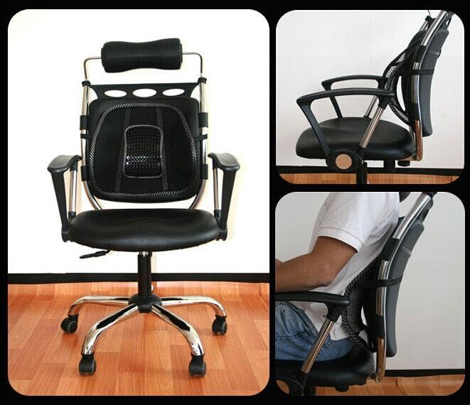 Back Massager Seat Back Support Car Seat Chair Massage Back Lumbar - Chair lumbar support
