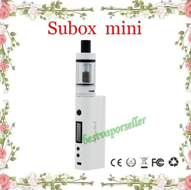 Kangertech Subox Mini Starter Kit with Subtank Mini sub ohm atomizers kanger KBOX Mini 5W-50W battery support 0.3 ohm coils bestvaporseller
