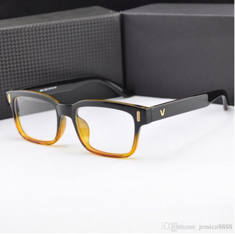 2019 NEW V Shaped Logo Armacao De Brand Eyeglasses Men