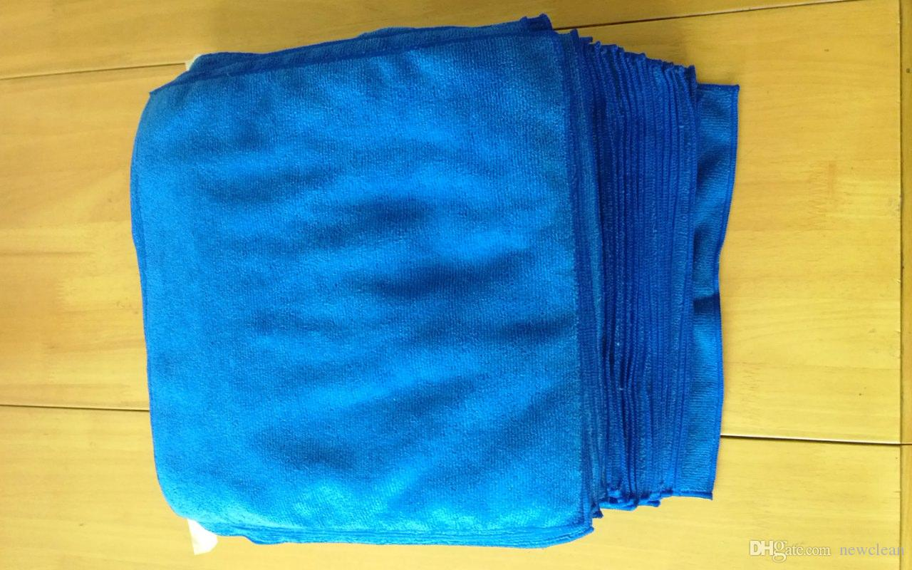 Mikrofaser sauberes Handtuch Mikrofaser Reinigungstuch Frottee Autopflege Polieren Küche Reinigungstuch Magische Handtuch Trockenreinigung