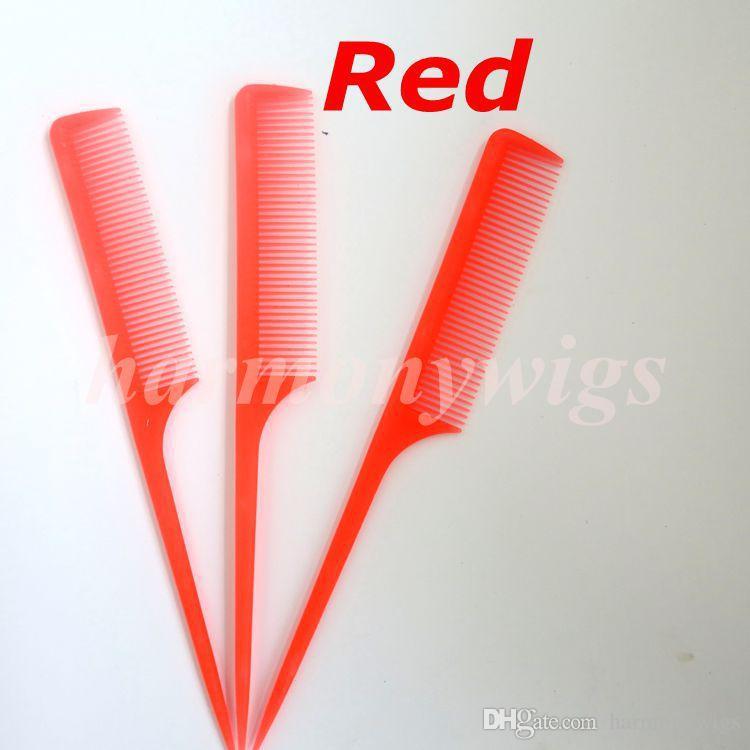 5 ألوان ذيل الشعر مشط الشعر فرشاة الشعر ملحقات أدوات لمنتجات الشعر أفضل جودة في المخزون