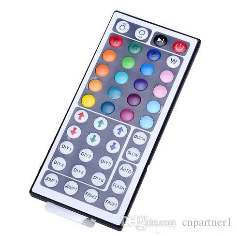 xlibera la nave DC 12 V 44 Tasti IR Remote RGB Mini Controller Dimmer smd 5050 3528 led Strips Lights 7 modulo di colore