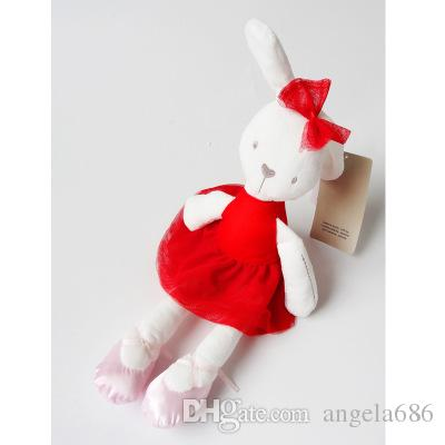 2017 new arrival Wholesale-Kawaii 42cm Large Soft Stuffed Animal Bunny Rabbit Toy Baby Girl Kid for sale