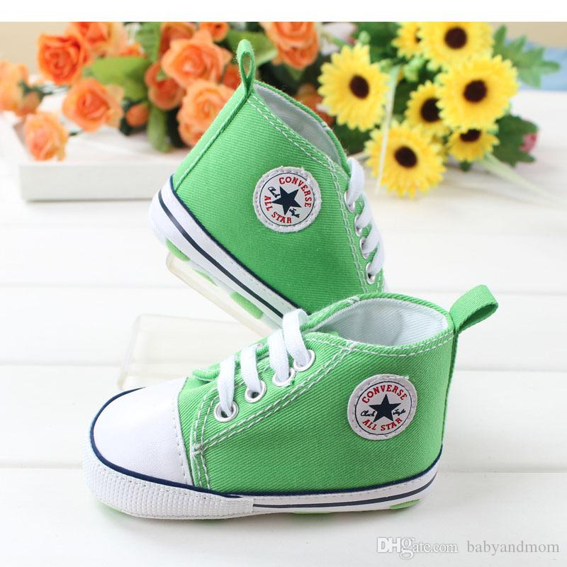 10% di sconto 2016 wholsale a buon mercato Bambini Baby Sport Shoes Boy Girl Primi Camminatori Sneakers Infante Morbido Fondo inferiore walker Scarpe 3 paia / 6 pz