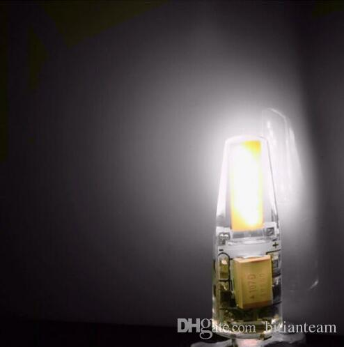 CE do bulbo de lâmpada da ESPIGA do diodo emissor de luz G4 da luz do diodo emissor de luz G4 da luz 12V de Dimmable G4