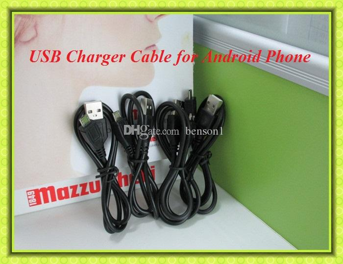 Micro USB Charger Cable for Samsung Galaxy S4 Note 2 Sync Data Charging Adapter Lead Cord for HTC LG oppo Android Cell phones