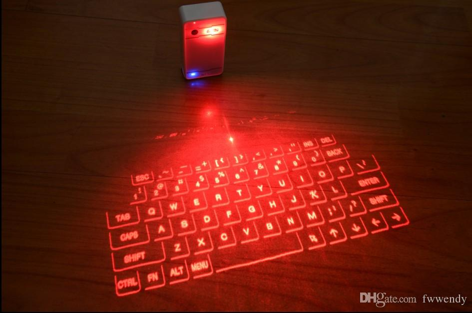 Magic Cube Virtual Laser Projection Keyboard With Mouse Via Bluetooth For Ltablet Pc Andrioid Ios Device Smartphone Cheap Computer Keyboards