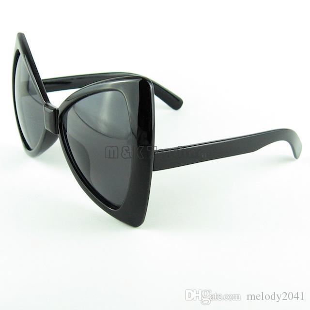 New Butterfly Sunglasses Fashion Women Bow Sun Glasses Fan Style Cheap Eyeglasses UV400