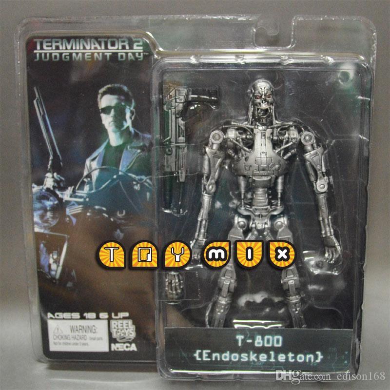 Brand New Terminator T800 Endoskeleton With machine carbine 7