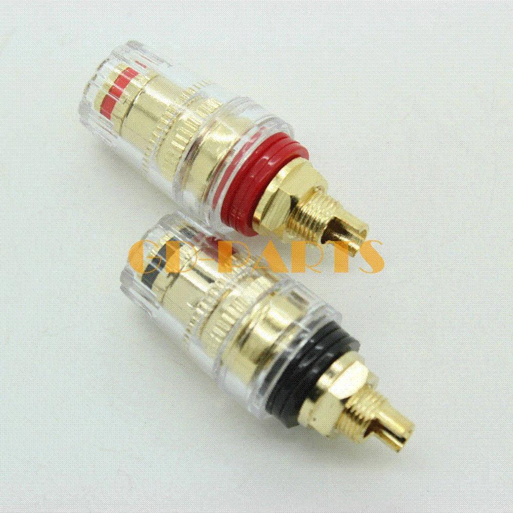 Gold Plated 5 WAY Audio Amplifier Speaker Terminal Binding