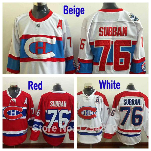 ... 76 See larger image New NHL Jerseys - Authentic Montreal Canadiens P.K.  Subban Women Red NHL ... 4b6db4dd1