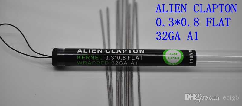 Diy Heating Wires Clapton coil wire Hive Tiger Quad Twisted Flat twisted Mix twisted Fused clapton Alien For Vape RDA RBA MOD
