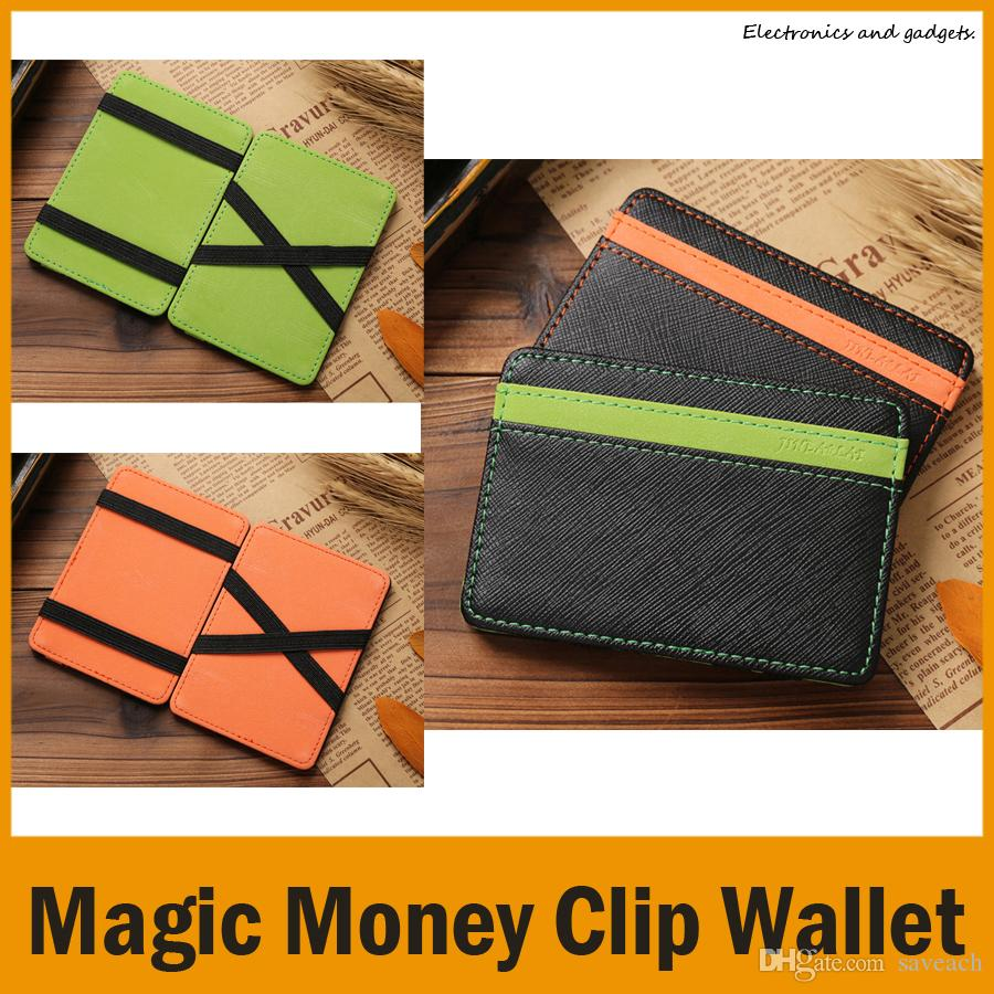 1103c8cca4ea Magic Money Clip Wallet Purse Funny Design Burse Money Bag Synthetic  Leather Notecase Card Holder Orange Green Leather Wallets For Women Zip  Around Wallet ...